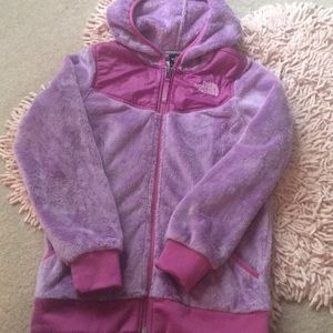 North Face Oso fleece full zip hoody.